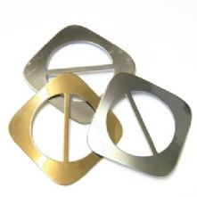 Diamond Shaped Metal Buckle
